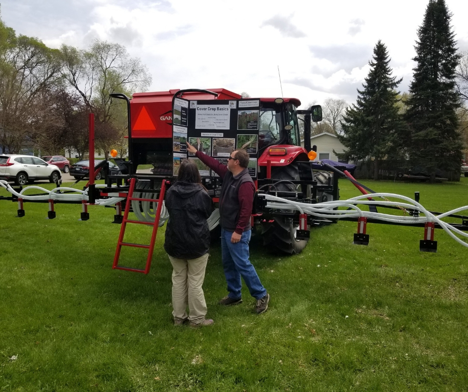 New Cover Crop Interseeder Aims to Simplify Planting for Area